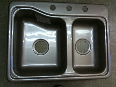 Kitchen Sink Bronze Plastic